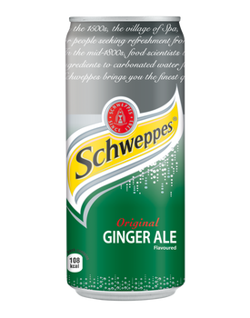 SCHWEPPES 300ml CAN Gingerale Flavoured