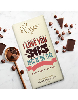 I Love You 365 Days of the Year Signature Blend Chocolate Bar