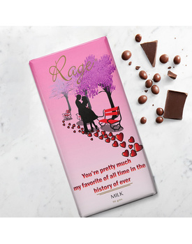 You are Pretty Much Favourite of All Time- Milk Chocolate Bar