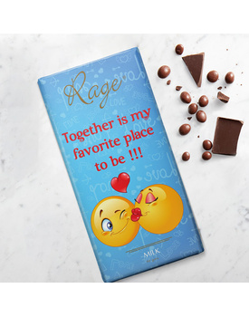 Together is My Favorite Place to Be Milk Chocolate Bar