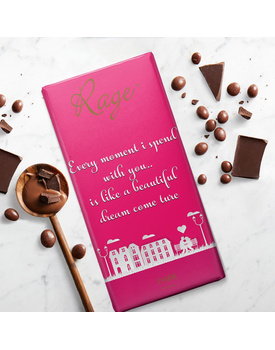 Every Moment I Spend With You- Dark Chocolate Bar