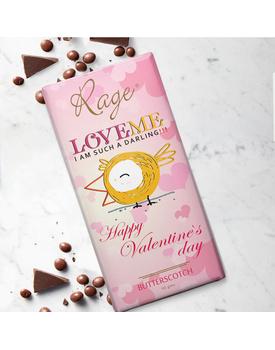 Love Me- I Am Such Darling - Butterscotch Chocolate Bar