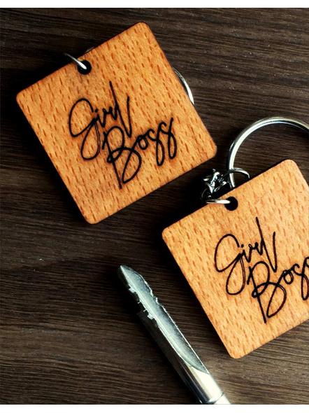 Girl Boss Keychain-AAWK21
