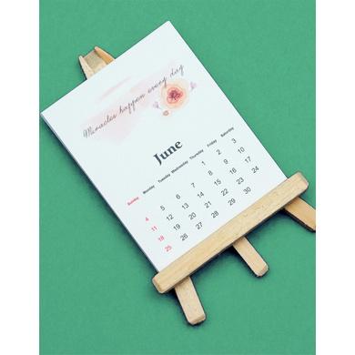 Mini Easel Calendar-HECAL01
