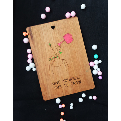 Growth Wooden Card-GIFTGC02