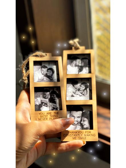 Hanging Photo Token-Small - 2 Photos-1