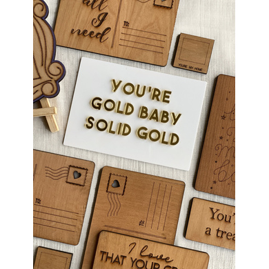 Solid Gold Card-1