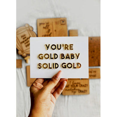 Solid Gold Card-GIFTGC05