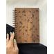 Florals Wooden Notebook-AAWN04-1-sm