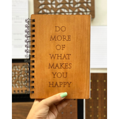 Do more of what makes you happy Notebook-AAWN08-1