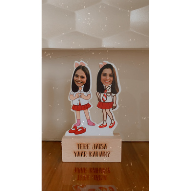 School Friends - Photo Caricatures-GIFTINGPC06