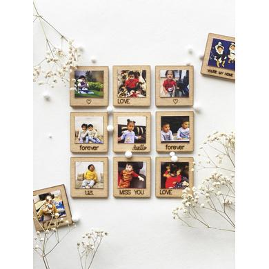 Mini Wooden Polaroid Magnets-GIFT06