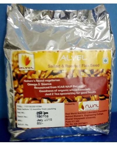 Salted roasted flaxseeds-SR250