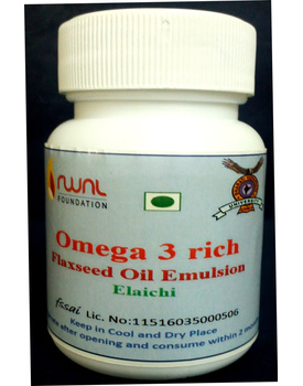 Flax seed oil emulsion