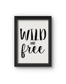 Wild Poster (Wood, A4)