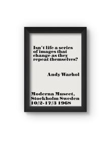 Isn't Life Poster (Wood, A4)