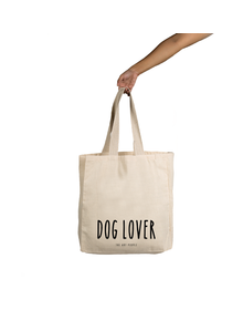 Dog Lover Tote (Cotton Canvas, 14x14