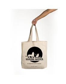 Hakuna Matata Tote (Cotton Canvas, 14x14