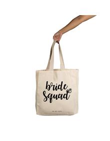 Bride Squad Tote (Cotton Canvas, 14x14