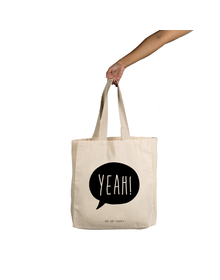 Yeah Tote (Cotton Canvas, 14x14