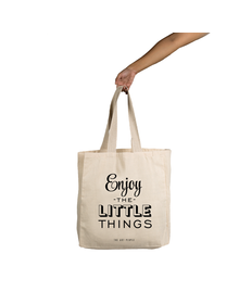 Little Things Tote (Cotton Canvas, 14x14