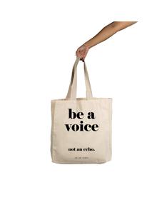 Voice Tote (Cotton Canvas, 14x14