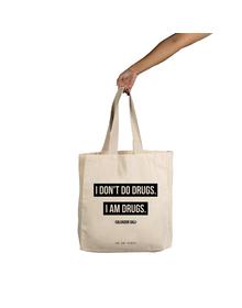 I Don't Do  Tote (Cotton Canvas, 14x14