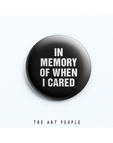 Memory Badge (Safety Pin, 6cms)
