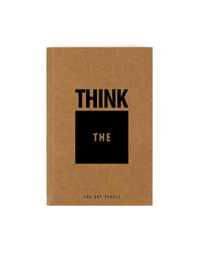 Think Outside The Box Notebook (Unruled, 90GSM, A5, 120 Pages)