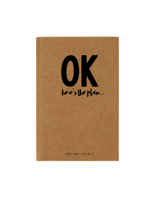 Ok Notebook (Unruled, 90GSM, A5, 120 Pages)