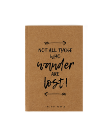 Lost Notebook (Unruled, 90GSM, A5, 120 Pages)