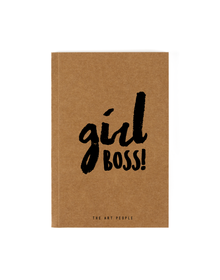 Girl Boss Notebook (Unruled, 90GSM, A5, 120 Pages)
