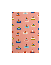 Power Yoga Notebook (Ruled, 80GSM, A5, 120 Pages)