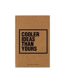 Cooler Notebook (Unruled, 90GSM, A5, 120 Pages)