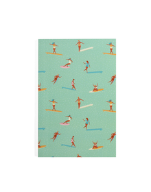 Surfer Notebook (Ruled, 80GSM, A5, 120 Pages)