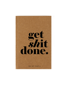 Get Done Notebook (Unruled, 90GSM, A5, 120 Pages)