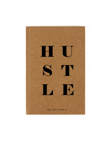Hustle Notebook (Unruled, 90GSM, A5, 120 Pages)