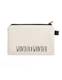 Wander Multi Purpose Pouch (Cotton Canvas, 21x15cm, White)