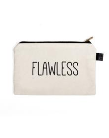Flawless Multi Purpose Pouch (Cotton Canvas, 21x15cm, White)