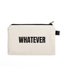 Whatever Multi Purpose Pouch (Cotton Canvas, 21x15cm, White)