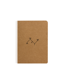 One Step Pocket Notebook (Ruled, 80GSM, A6, 90 Pages)