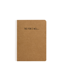 This Year I Will Pocket Notebook (Ruled, 80GSM, A6, 90 Pages)