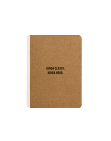 Classy Pocket Notebook (Ruled, 80GSM, A6, 90 Pages)