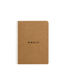 MMXIX Pocket Notebook (Ruled, 80GSM, A6, 90 Pages)