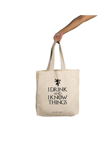 I Know Things Tote (Cotton Canvas, 14x14