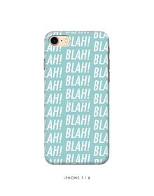 Blah Blah Phone Cover