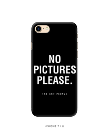 No Pictures Phone Cover