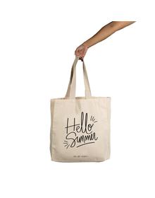 Hello Summer Tote (Cotton Canvas, 14x14