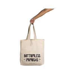 Bottomless Mimosas Tote (Cotton Canvas, 14x14