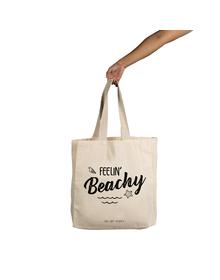 Feelin Beachy Tote (Cotton Canvas, 14x14